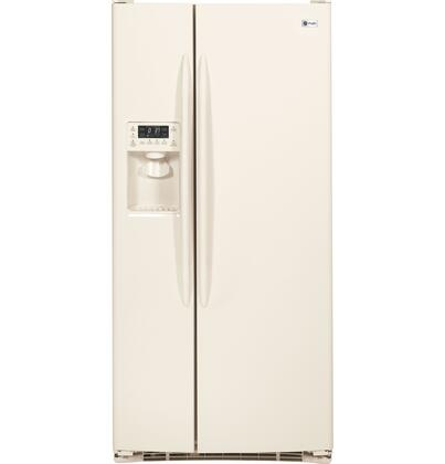 GE Profile PSSF3RGZCC Profile Series Side by Side Refrigerator with 23.1 cu. ft. Capacity in Bisque