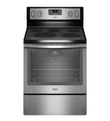 Awesome Whirlpool Wfe540H0Es 30 Inch Electric Freestanding Range In Wiring Digital Resources Funapmognl