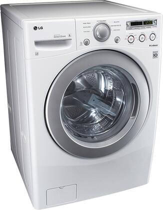 Lg Wm2250cw 3 6 Cu Ft Front Load Washer Appliances