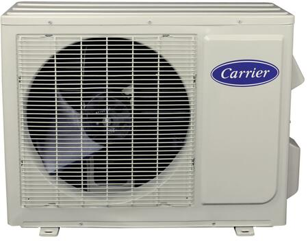 Carrier 38MFQ0 Comfort Series Mini Split Ductless Outdoor Unit with x Cooling BTU, x Heating BTU, Low Sound Levels, Fast Installation and Individual Room Comfort, in White