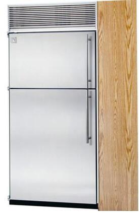 Northland 18TFSSL Built In Counter Depth Top Freezer Refrigerator with 10.3 cu. ft. Total Capacity 4 Glass Shelves 3.2 cu. ft. Freezer Capacity with Door Lock