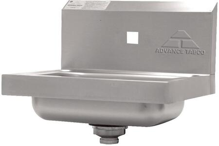 Advance Tabco 7-PS-71 Single Hole Premium Wall Mounted Hand Sink, No Faucet Included