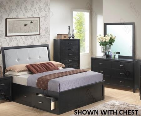 Glory Furniture G1250FQSB2DM G1250 Queen Bedroom Sets
