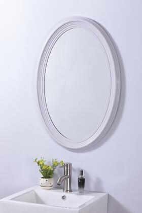 Bellaterra Home 808700A Oval Frame Mirror