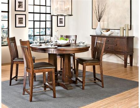 Intercon Furniture HYTA54546240GRSEC Hayden Dining Dining Ro