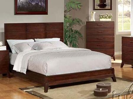 Acme Furniture 11197EK Adel Series  King Size Platform Bed