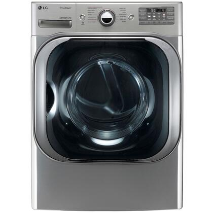 """LG DLEX8000V Front Load Electric 9.0 Cu. Ft. Capacity Yes 29"""" 29""""Stainless Steel Digital No Big Load Dryer 