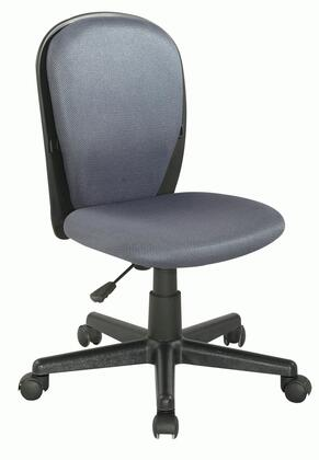 "Chintaly 4245CCHGRY 17.32"" Childrens Office Chair"