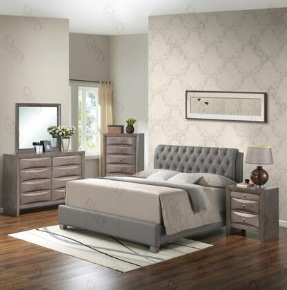 Glory Furniture G1505CFBUPDMN G1505 Full Bedroom Sets