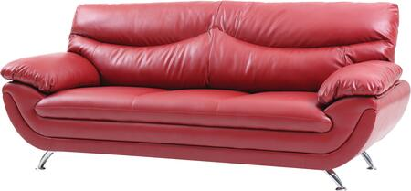 Glory Furniture G432S  Stationary Faux Leather Sofa