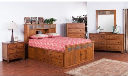 Sunny Designs 2334ROSQBDMN Sedona Queen Bedroom Sets