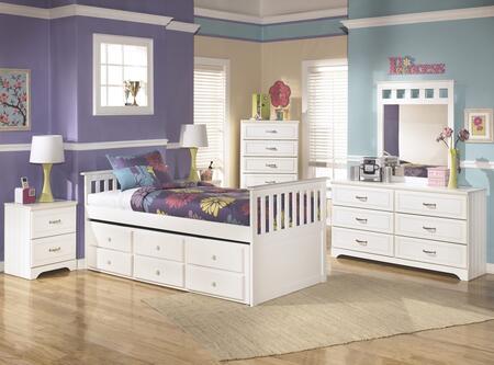 Signature Design by Ashley B102TTBDMNC Lulu Twin Bedroom Set