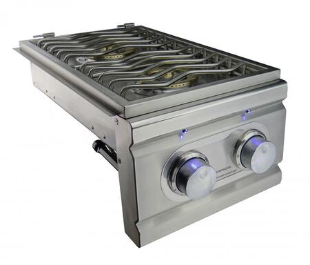 RCS RDB1 Stainless Steel Double Side Burner for Cutlass Pro Grills, Up to 24000 BTUs