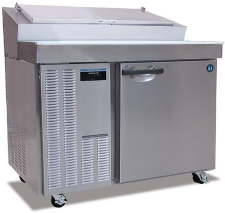 "Hoshizaki HPRXXA XX"" Professional Series Preparation Table Refrigerator with XX cu. ft. Capacity, EverCheck Controller, Stainless Steel Constructiom, and Night Switch: Stainless Steel"