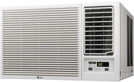 LG LWx16HR Window Air Conditioner with Heat, Remote, 115V, in White