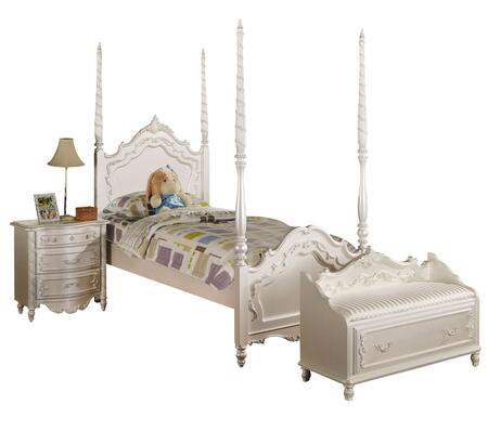 Acme Furniture 01000TNB Pearl Twin Bedroom Sets