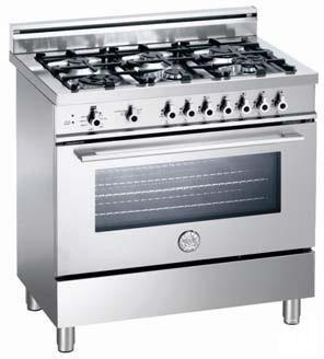 Bertazzoni X366PIRXLP Dual Fuel Freestanding Range |Appliances Connection