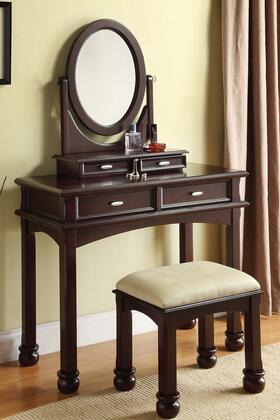 Acme Furniture 90032 Amherst Series Wood 4 Drawers Vanity