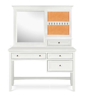 Magnussen Y187548 Kenley Series Desk with Vanity Mirror Childrens  Desk