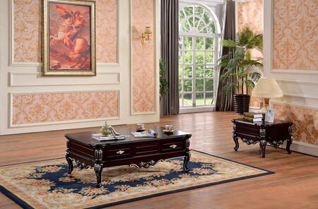 Meridian 297CE Valentino Living Room Table Sets