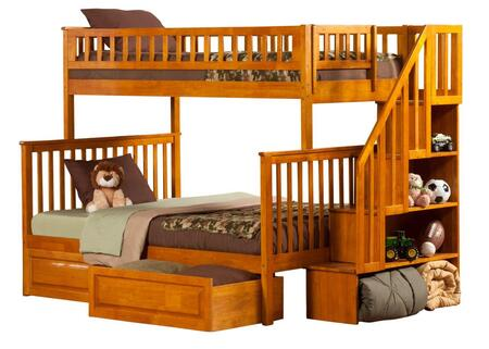 Atlantic Furniture AB56727  Twin over Full Size Bunk Bed