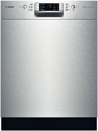 "Bosch SHE8ER55UC 24"" 800 Plus Series Built-In Full Console Dishwasher"