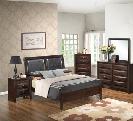 Glory Furniture G1525AKBDMN G1525 King Bedroom Sets