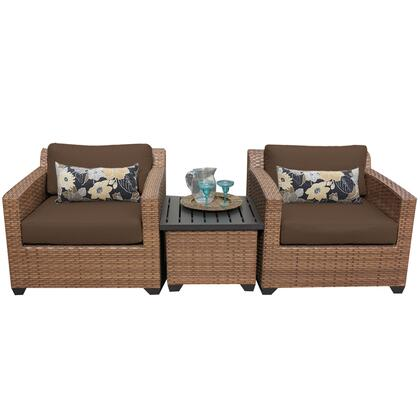 Tk classics laguna03acocoa patio sets appliances connection for Outdoor furniture 0 finance