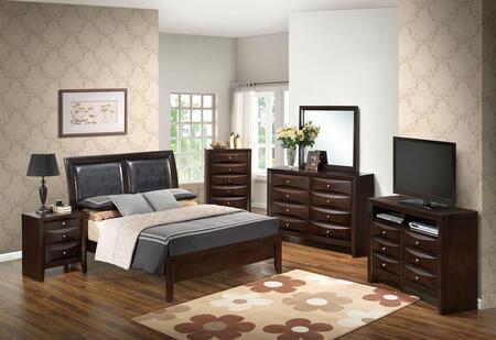 Glory Furniture G1525AQBDMNCHTV2 G1525 Queen Bedroom Sets