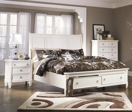 Milo Italia BR768KSBEDROOMSET Hanson King Bedroom Sets