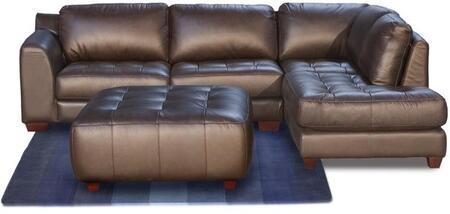 Diamond Sofa ZENRF2PCSECTOTTOM Zen Series  Sofa
