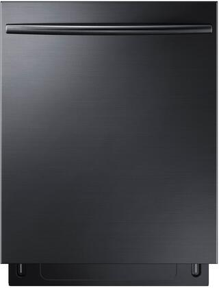 """Samsung DW80K7050Ux 24"""" Energy Star Built-In Dishwasher with 15 Place Settings, 3rd Rack, Stainless Steel Interior, 2 Silver Basket and StormWash Heavy Duty Wash System, in"""