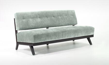 Armen Living LC10333BL Trace Series  Sofa