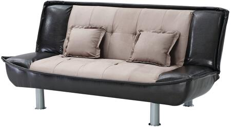 Glory Furniture G509S  Convertible Bycast Leather Sofa