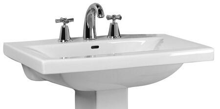 Barclay B3278WH White Bath Sink