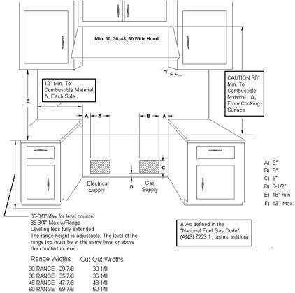 Capital cob484g2n 48 inch connoisseurian series gas - Capital kitchen appliances ...
