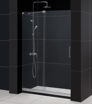 """DreamLine DL-64 Mirage Frameless Sliding Shower Door and SlimLine 30"""" by 60"""" Single Threshold Shower Base in"""