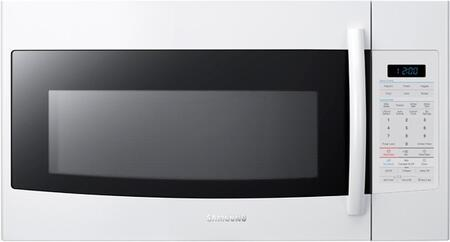 Samsung Appliance SMH1816W 1.8 cu. ft. Capacity Over the Range Microwave Oven