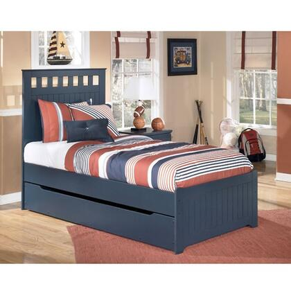 Milo Italia BR17939404973TRS Jamarion Series  Twin Size Panel Bed