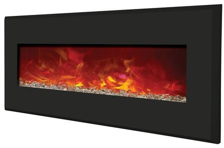 Amantii WMBI586421BLACK Wall Mountable Electric Fireplace
