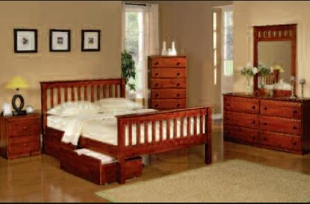 Donco 119TE  Twin Size Platform Bed