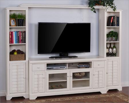 3535 Vintage White Entertainment Wall (2)