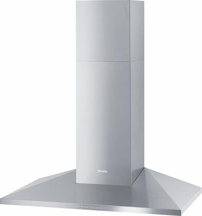 Miele DA 39x-6 Wall Mounted Classic Hood with 625 CFM Blower, 10-ply Stainless Steel Grease Filters, Intensive Mode, and Halogen Lighting, in Stainless Steel