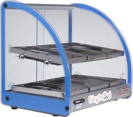 "Skyfood FWD218x 18"" Food Warmer Display Case with Double Shelf, in"