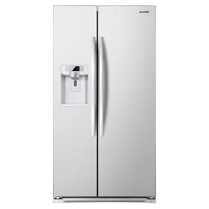 Samsung Appliance RSG257AAWP  Side by Side Refrigerator with 24.5 cu. ft. Capacity