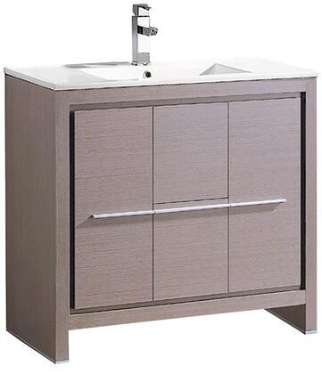 """Fresca FCB8136XXI Allier 36"""" Modern Bathroom Cabinet w/ Sink in"""