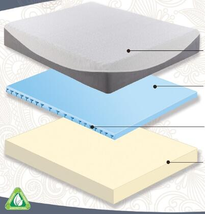 Boyd IMGEL408EK Gel Lux Series King Size Standard Mattress