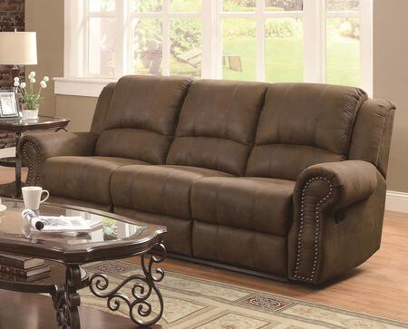 Reclining Microfiber Sofa Maverick Grey Couch Recliner