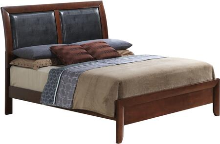 Glory Furniture G1550AQB  Queen Size Panel Bed