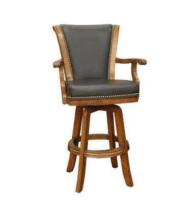 American Heritage 100613CD Napoli Series Residential Leather Upholstered Bar Stool